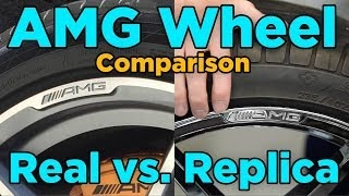 AMG Wheels: Real vs. Replica Comparison