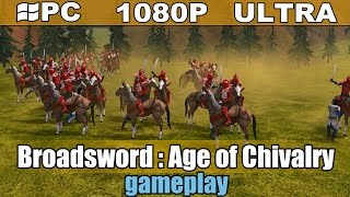Broadsword : Age of Chivalry gameplay HD - Turn Based Medieval Strategy - [PC - 1080p]
