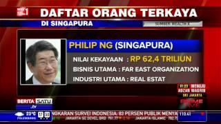 Sukanto Tanoto Masuk Daftar Orang Terkaya di Singapura