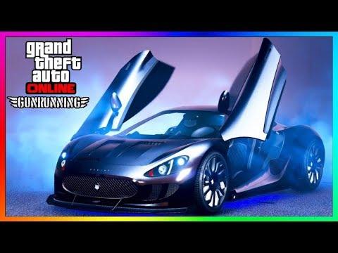 GTA 5 - $2,750,000 XA-21 SUPERCAR GUN RUNNING DLC SPENDING $$$$$ (GTA 5 Online XA21 DLC Update)