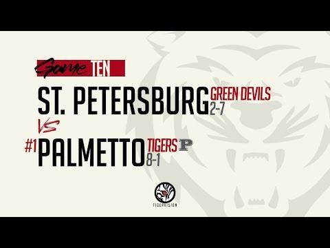 St. Petersburg Vs #1 Palmetto (Varsity Football) (11.1.2019)
