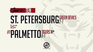 St. Petersburg Vs 1 Palmetto Varsity Football 11.1.2019