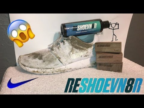 HOW TO CLEAN ALL WHITE ROSHES USING RESHOEVN8R