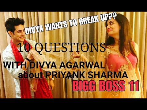 Divya Agarwal interview about Priyank's blunder in Bigg Boss house| Bigg Boss 11| Splitsvilla 10