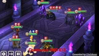 summoners war auto giants b7 with 5 monsters