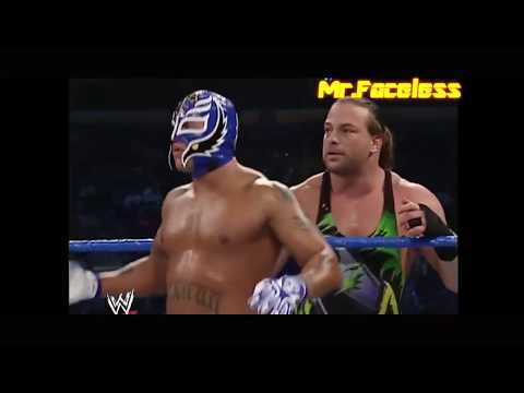 SmackDown Rey Mysterio Rob Van Dam Vs Mark Jindrag Luther Reigns Full Hd