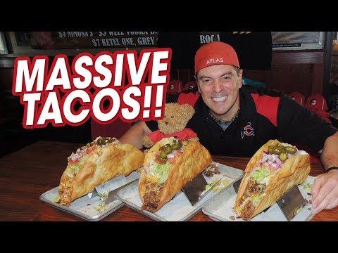 Mallie's Monster Taco Challenge in Detroit, Michigan!!