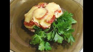 Как Запечь Куриное Мясо (бедро) в Духовке с Овощами/Chicken with vegetables