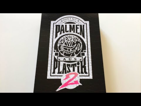 BONEZ MC RAF Camora Palmen aus Plastik Box CD 187