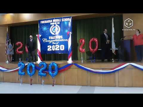 Firebaugh Middle School  8th Grade Promotion 2020 Day 1 Part 1