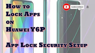 How to Lock Apps on Huawei Y6p   App Lock Security Setup screenshot 3
