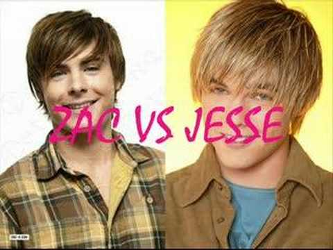 Zac Efron VS Jesse McCartney