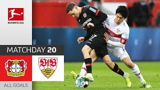 Spectacular Game! Wirtz & Gray score | Bayer Leverkusen - VfB Stuttgart | 5-2 | All Goals | MD 20