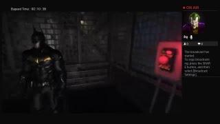Batman Arkham Knight Man Bat Escapes GCPD