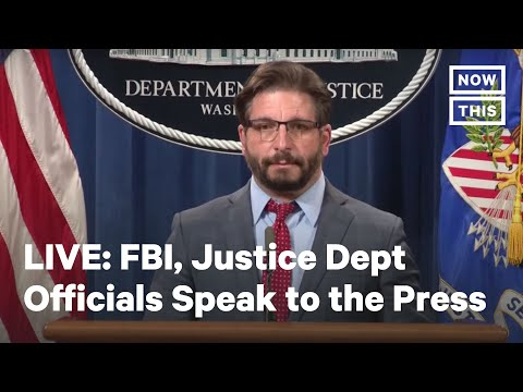 FBI and Justice Dept Officials Brief Press Regarding Capitol Attacks   LIVE   NowThis