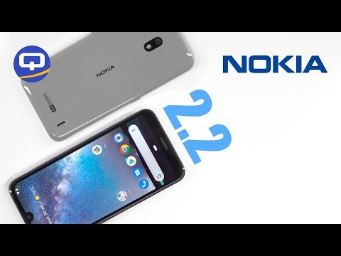 Обзор Nokia 2.2. Сменные крышки. / QUKE.RU /