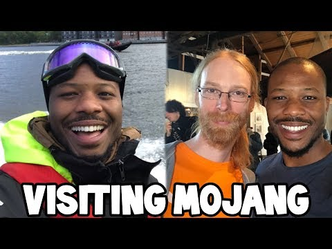 Visiting Mojang in Sweden! (Minecraft Creator Summit 2017)