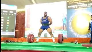 960 kgs powerlifting || 400 SQUAT + 330 DEAD LIFT + 230 BENCH || INDIAN POWERLIFTING || GABBAR