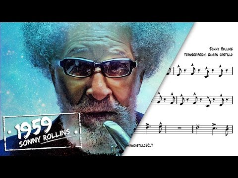"""St. Thomas"" - Sonny Rollins - 🎷Sax Alto transcription🎷"
