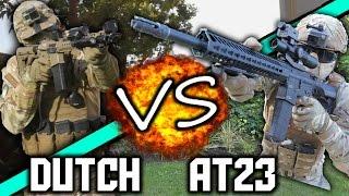 AIRSOFT 1v1: AirsoftTech23 Vs. Dutch The Hooligan 😮!!!  WHO WON?!