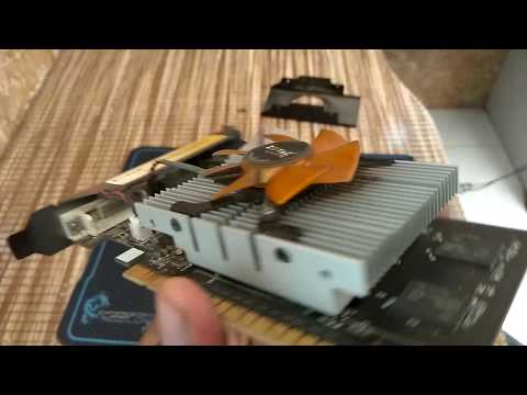 LIFE HACK - How To Clean OLD Graphics Card - Without Compressed Air