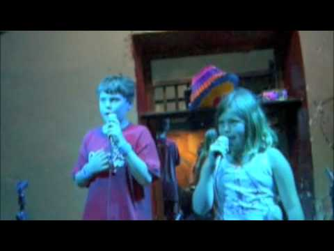 karaoke san Miguel 7-8-09