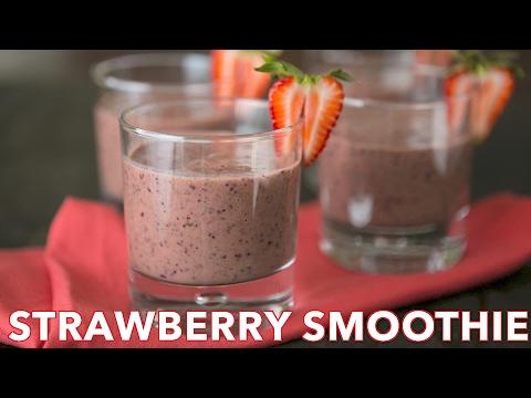Easy Strawberry Spinach Smoothie Recipe - Natasha's Kitchen