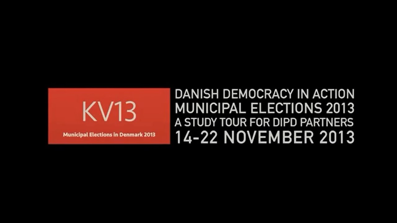 Download DIPD Municipal Elections Study Tour 2013 - Danish Democracy in Action