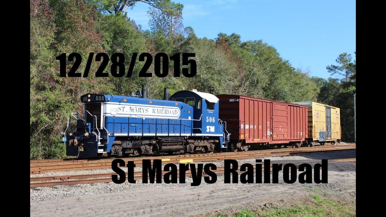 12/28/15 St Marys Railroad - YouTube