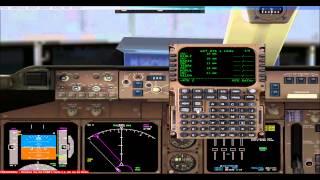 Lets Play/Fly/Tutorial FSX PMDG 747-400 [Flug 4 Part 1] HD Frankfurt a.M - Whashington