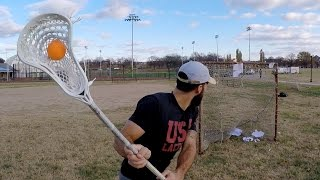 TARGET PRACTICE   Lacrosse Nets, Paper, and Rabil Stickers
