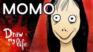 MOMO | Personaje CREEPYPASTA | Draw My Life