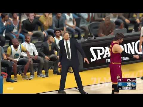 Paul George to Cavs Simulation vs Warriors