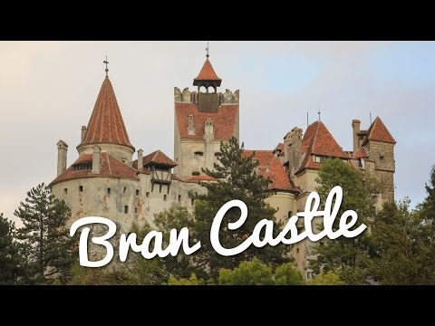 Touring Dracula's Bran Castle in Romania