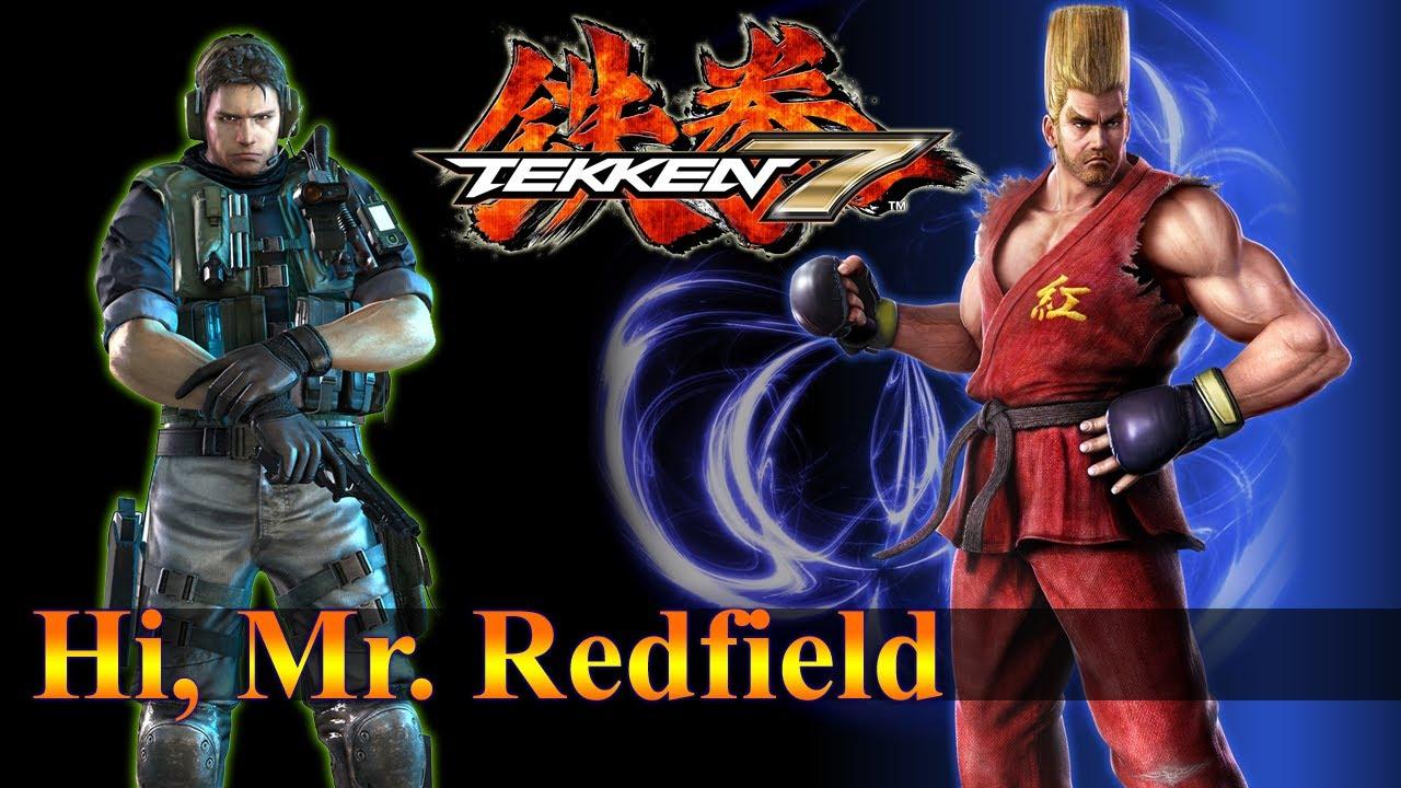 TEKKEN 7 Chris Redfield Customize [Paul Phoenix] - YouTube