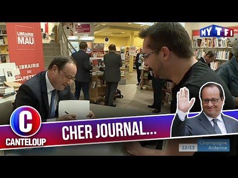 """Imitation de François Hollande - """"Je suis le Victor Hugo des Leclerc !"""" - C'est Canteloup"""