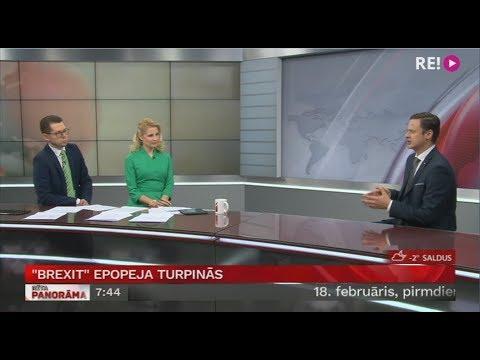 Intervija ar Tomu Pastoru par ''Brexit''