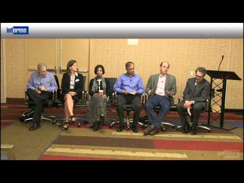 Trends in Research Publications INFORMS Editors' Panel