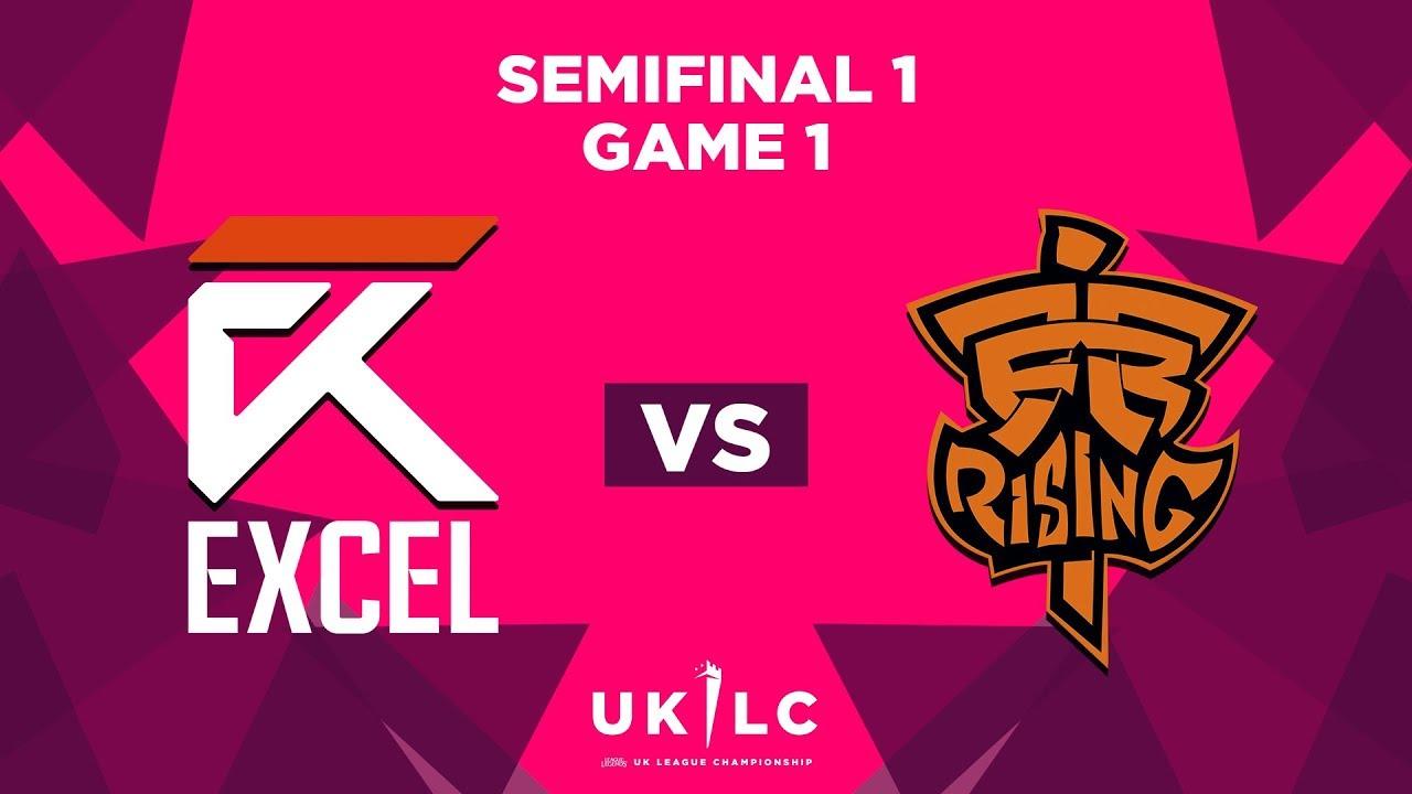 Excel UK vs  Fnatic Rising   UK League Championship   Semifinal 1 Game 1    Spring Split 2019