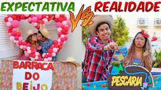 EXPECTATIVA VS REALIDADE NA FESTA JUNINA! - KIDS FUN