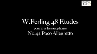 〈 Etude No.42 〉from W.Ferling 48 ETUDES – Play Along