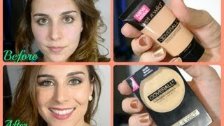 review wet n wild coverall cream foundation powder   bailey b