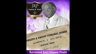 Earl Mason Pruitt Funeral Ceremony.1998
