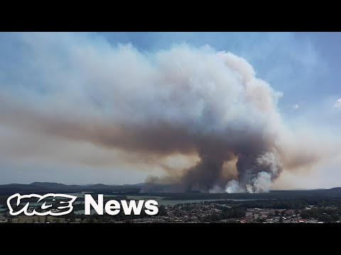 How Australia's Wildfires Create Their Own Hellish Storms