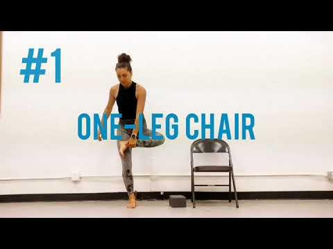 #ModifyMonday: One legged Chair Pose