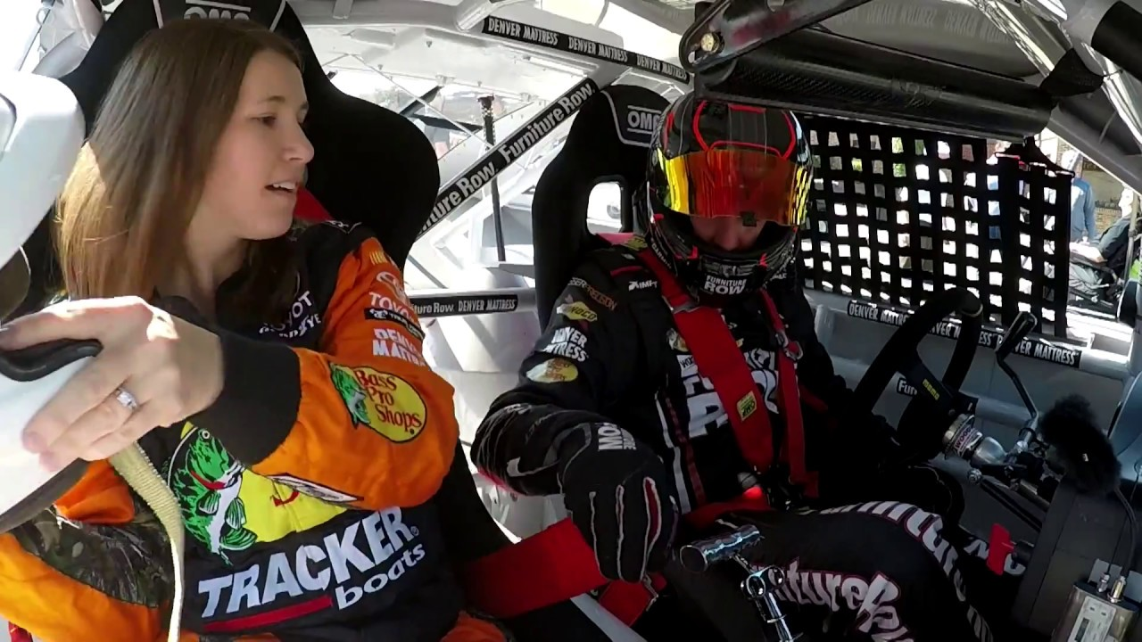 Truex Jr  shows fans what racing in NASCAR is like