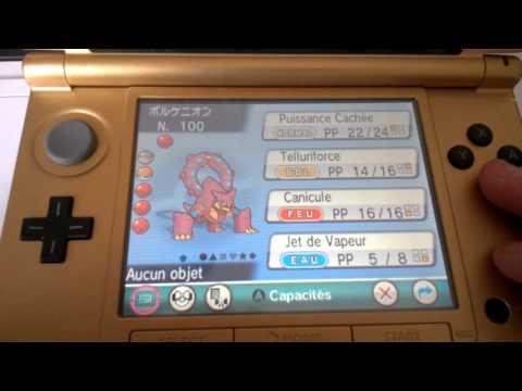 Comment avoir Volcanion sans triche Pokemon ROSA
