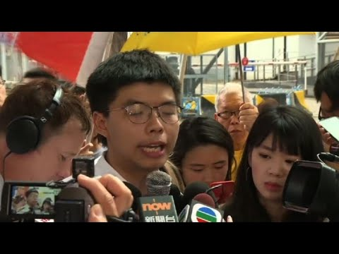 Joshua Wong warns more protests if Carrie Lam doesn\'t resign | AFP