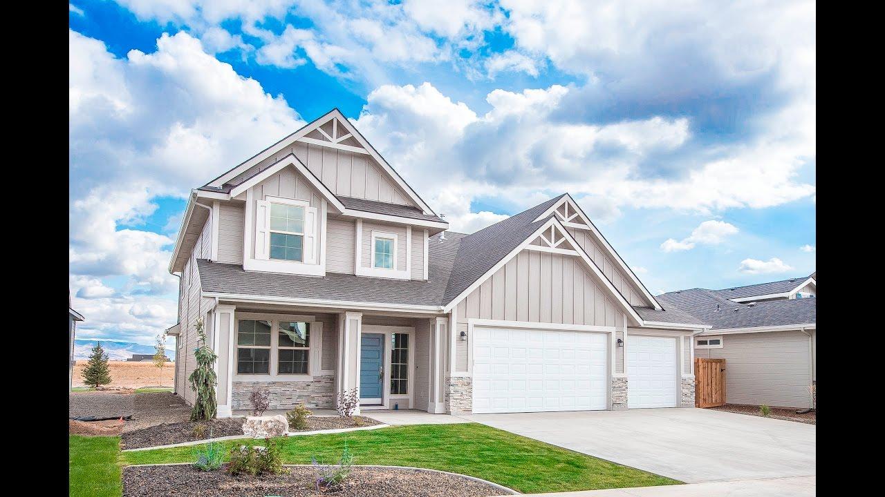 New Homes By Eaglewood The Savanna In Boise Idaho Youtube