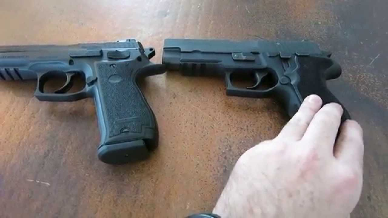 SAR K2-45 and Sig Sauer P227 Comparison